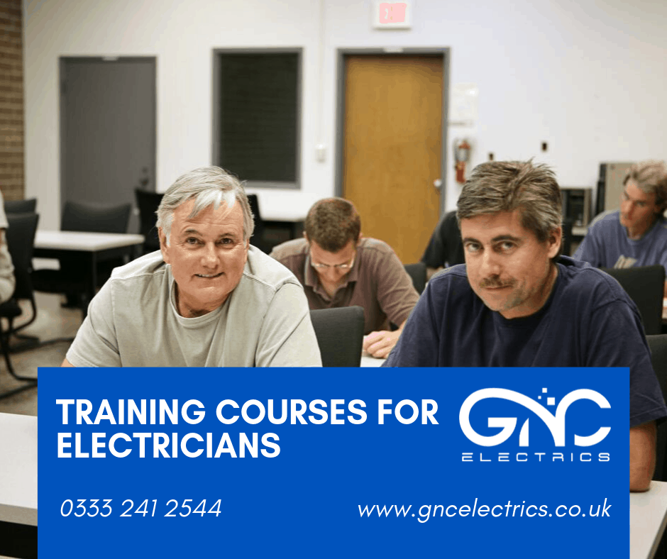 Training courses for electricians